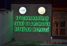 Afyonkarahisar Tıbbi ve Itri Bitkiler Merkezi resmi.