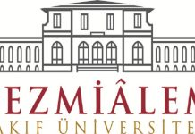 Bezmi Alem Üniversitesi logosu.