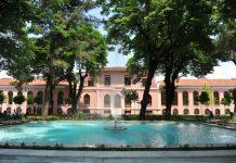 Bezmi Alem Üniversitesi yerleşkesi.