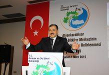 Prof.Dr.Veysel Eroğlu konuştu.
