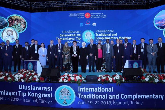 1. Uluslararası Geleneksel ve Tamamlayıcı Tıp Kongresi.